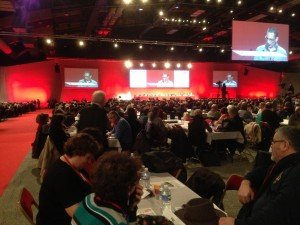 congrès FO 2015 à Tours 1